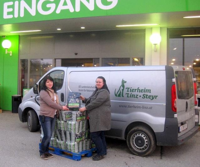 Megazoo Linz Leonding Und Proplan Spenden 300 Kilogramm Tierfutter